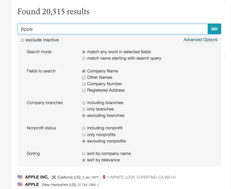 advanced search - 2