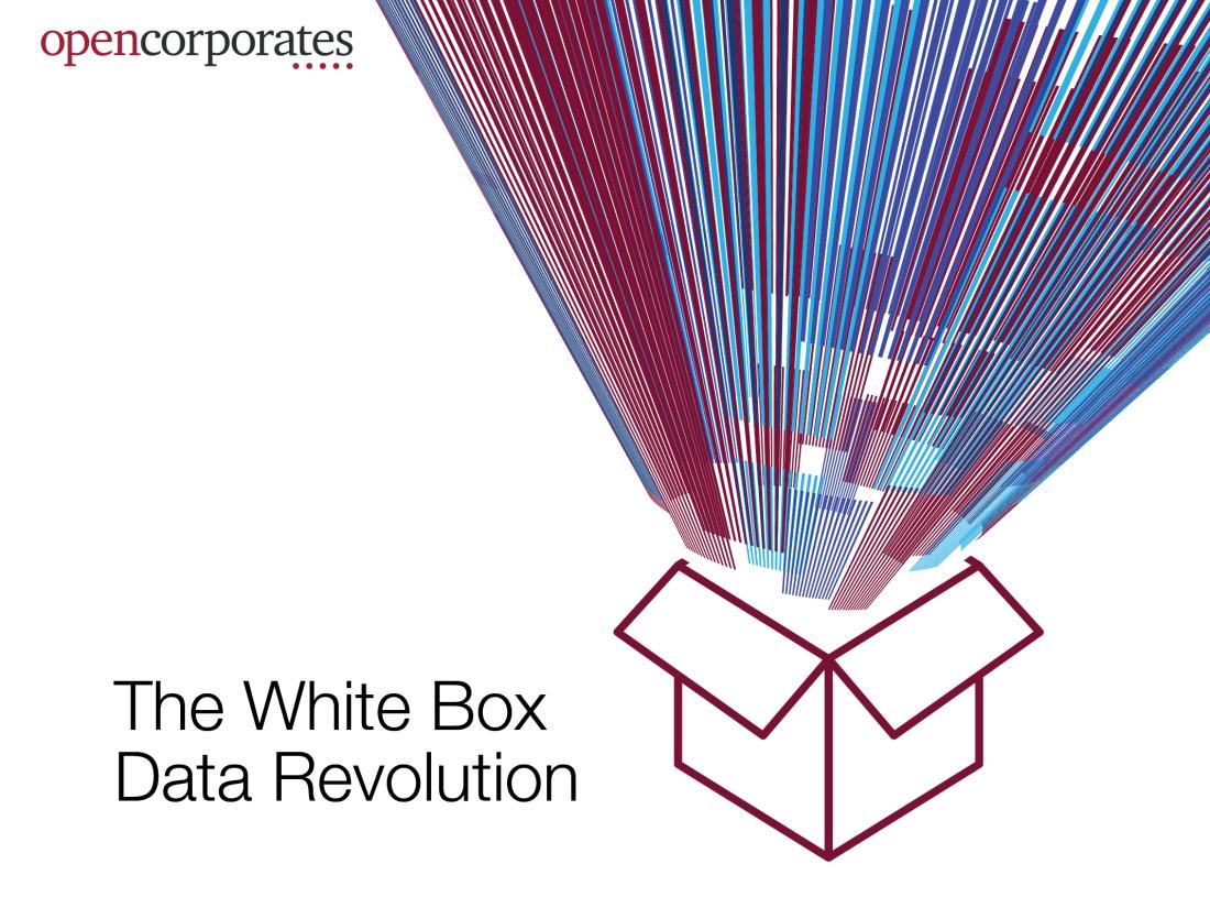 white box data revolution with logo